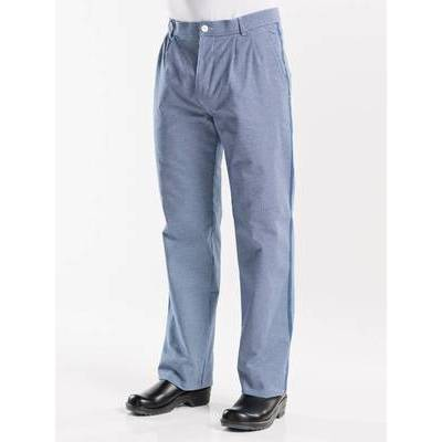 Chaud Devant Chef Pants Pepita Blue (CHA128)