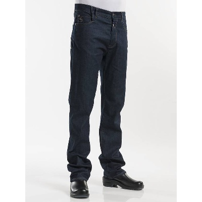 Chaud Devant Kokspantalon Jeans Blue Denim Stretch (CHA196)