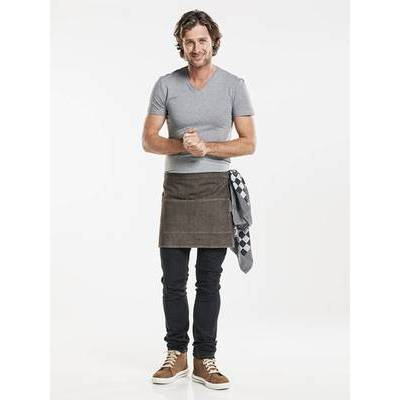 Chaud Devant Apron Base Denim Brown W80 - L40 (CHA479)