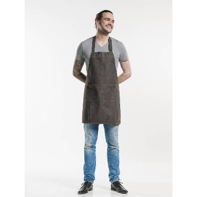 Chaud Devant Schort Base Brown Denim (CHA513)