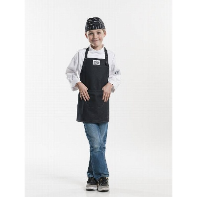 Chaud Devant Schort Kids Black Denim (CHA677)