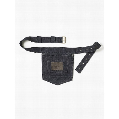 Chaud Devant Accessories Pocket Belt Blue Denim (CHA729)