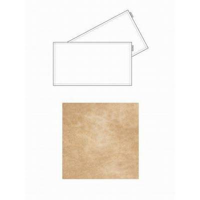 Chaud Devant Tafel Textiel Leren Placemat Irish Cream (2pcs) (CHA81399)