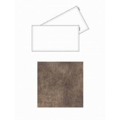 Chaud Devant Tafel Textiel Leren Placemat Barrel Brown (2pcs) (CHA81599)