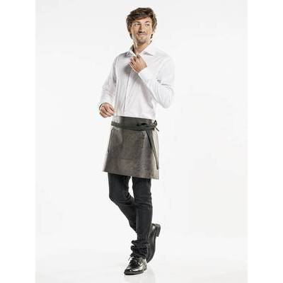Chaud Devant Leather Apron Regular Moonshine Black (CHA87999)