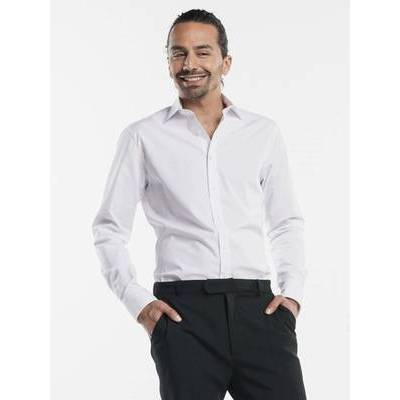 Chaud Devant Herenhemd White Stretch (CHA614)