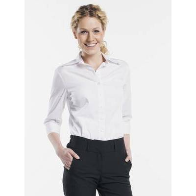 Chaud Devant Serve EleganceBlouse Woman White Stretch (CHA612)
